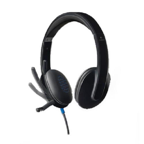 LOGITECH USB Headset H540 [981-000482] - Headset Pc / Voip / Live Chat